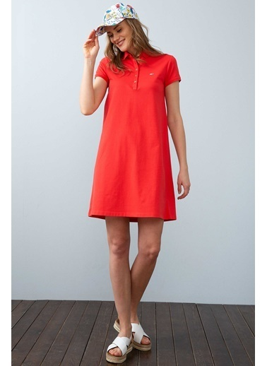 U.S. Polo Assn. Elbise Kırmızı